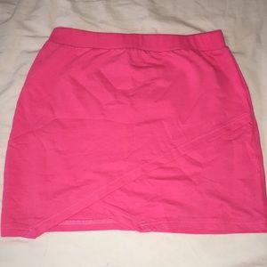 Asos hot pink mini skirt